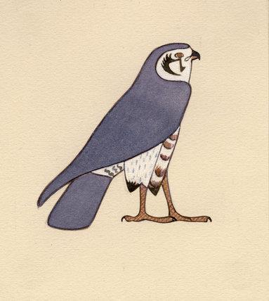 Falcon Hieroglyph