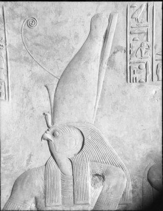 Horus Wearing Double Crown