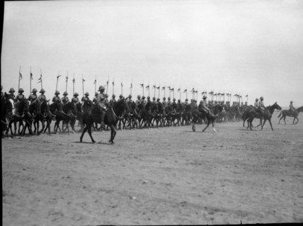 Cavalry Advancing