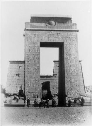 The Propylon of the Temple of Khons, Karnak