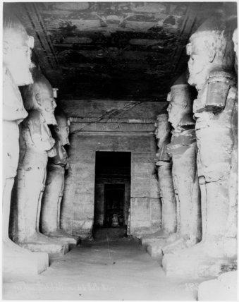 The Great Hall, Temple of Ramesses II, Abu Simbel