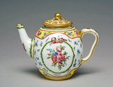 Sevres teapot, by Charles-Nicolas Buteux