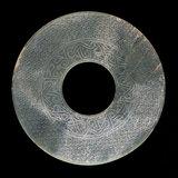 Chinese jade disc