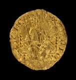 Gold penny from the reign of Henry III