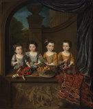 The daughters of Sir Matthew Decker, by Jan van Meyer