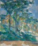 Landscape, by Cezanne