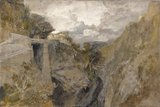 Fortified Pass, Val d'Aosta, by Turner