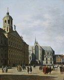 The Town Hall of Amsterdam, by Gerrit Adriaensz Berckheyde