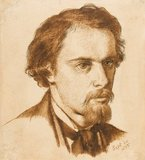 Portrait of the Artist, by Rossetti