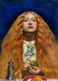 The Bridesmaid, by Millais