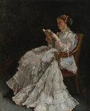 La Liseuse, by Alfred Stevens