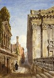 Cambridge, Senate House Passage, by Joseph Murray Ince