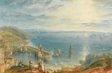 Torbay from Brixham, by Turner