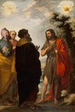 St John the Baptist with the Scribes and Pharisees, by Murillo