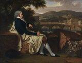 Joseph Allen Smith contemplating Florence, by Fabre
