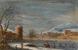 Winter Landscape, attributed to Paulo de' Filippi (Betto)