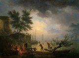 Sunrise, by Joseph Vernet
