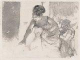 Chanteuse du cafe-concert, by Degas