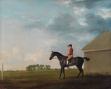 Gimcrack, John Pratt Up, Newmarket Heath, by Stubbs