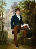 Portrait of Nicolas-Pierre Tiolier, by Francois Eduard Picot
