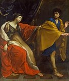 Joseph and Potiphar's wife, by Guido Reni