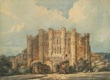 West View of Thornton Abbey, Lincolnshire, by Thomas Girtin