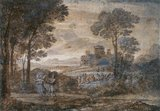 Jacob wrestling with the Angel, by Claude Lorrain