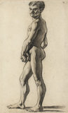 A male nude, by Cezanne