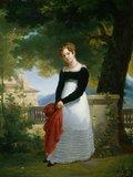 Portrait of Adelaide-Sophie Cleret, by Francois Eduard Picot