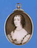 Queen Henrietta Maria, by John Hoskins