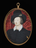 Sir Henry Slingsby, by Nicholas Hilliard