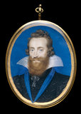 Ludovick Stuart, Duke of Lennox and Richmond, by Isaac Oliver