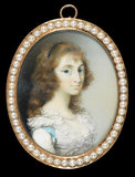 Maria Tryphena Blunt, Lady Cockerell, by George Engleheart