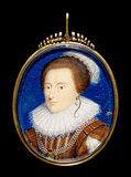 Elizabeth of Bohemia, by Peter Oliver (imitator of)