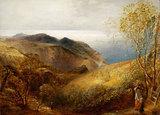 View of Lee, North Devon, by Samuel Palmer