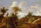 Landscape with figures, by Pieter Molijn