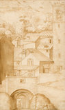 View of the Monastery of La Verna, by Jacopo Ligozzi