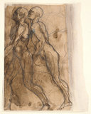 The Shades approaching Dante and Virgil, by Rodin