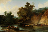 The River Wye at Tintern Abbey, by de Loutherbourg