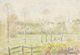 Eragny, by Camille Pissarro