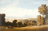 Oxford from Headington Hill, by William Turner