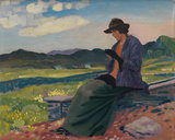 Lyndra in Wales, by Derwent Lees