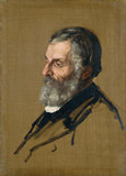 The Reverend Robert Burn, by Alphonse Legros