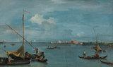 Forte S. Andrea Del Lido, Venice, by Guardi