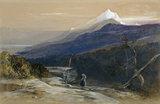 Mount Athos, by Edward Lear
