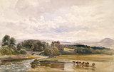 Brougham Castle, by Peter De Wint
