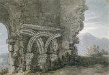 Saxon Capitals, Dunwich, by Thomas Hearne