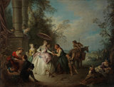 La Bonne Aventure, by Jean-Baptiste Joseph Pater
