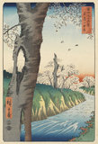 Fuji from Koganei, Musashi, by Utagawa Hiroshige