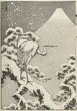 Fugaku hyakkei, by Katsushika Hokusai